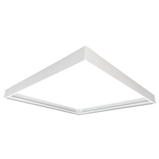 Befestigungsrahmen für 30 x 120cm LED Panels weiß