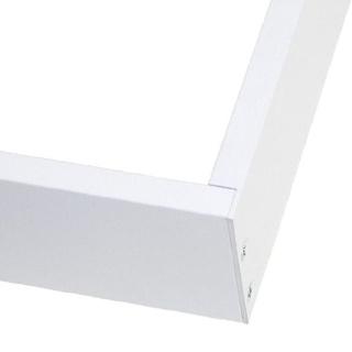Befestigungsrahmen für 60 x 120cm LED Panels weiß