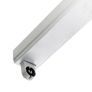 LED Röhren Halterung 150cm einseitige Versorgung