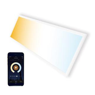 LED Panel CCT 30x120cm 36W Farbtemperatur einstellbar und dimmbar (mit der App)
