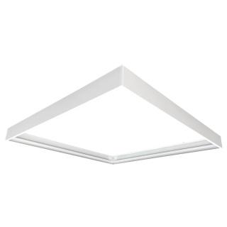 Befestigungsrahmen für 62 x 62cm LED Panels weiß
