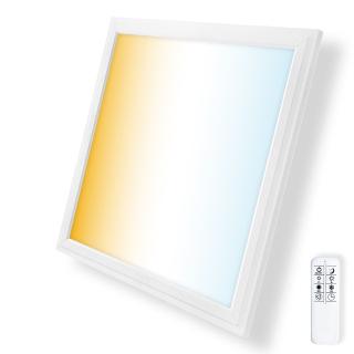 62x62cm CCT: Farbtemperatur einstellbar und dimmbar