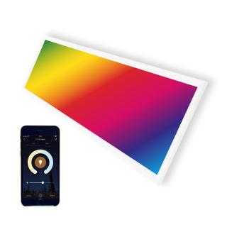 LED Panel 30x120cm 36W RGBW + CCT Farbe und Farbtemperatur einstellbar (mit der App)