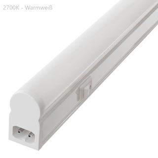 LED Lichtleiste 110cm 15W warmweiß matt