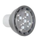 LED Einbaustrahler Warmweiß Alu gebürstet matt Rund 3er Set