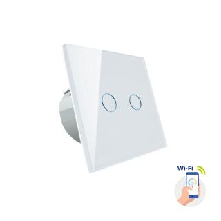 Zweizonenschalter Spectrum SMART Wi-Fi Lichtschalter WLAN