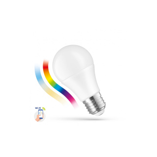 LED Lampe Smart GLS 9W, E-27 RGBW, CCT, dimmbar, Wi-Fi