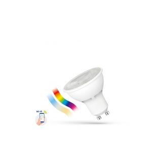 LED Lampe Smart GU10 5W, RGBW, CCT, dimmbar Wi-Fi