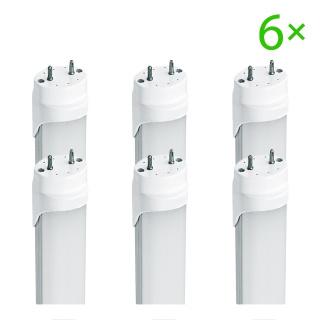 LED T8 Röhre 120cm 20W kaltweiß matt 6er Set