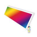 LED Panel 30x120cm 40W RGBW + CCT Farbe und...