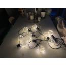 LED Lichterkette Warmweiß Außen/Innen